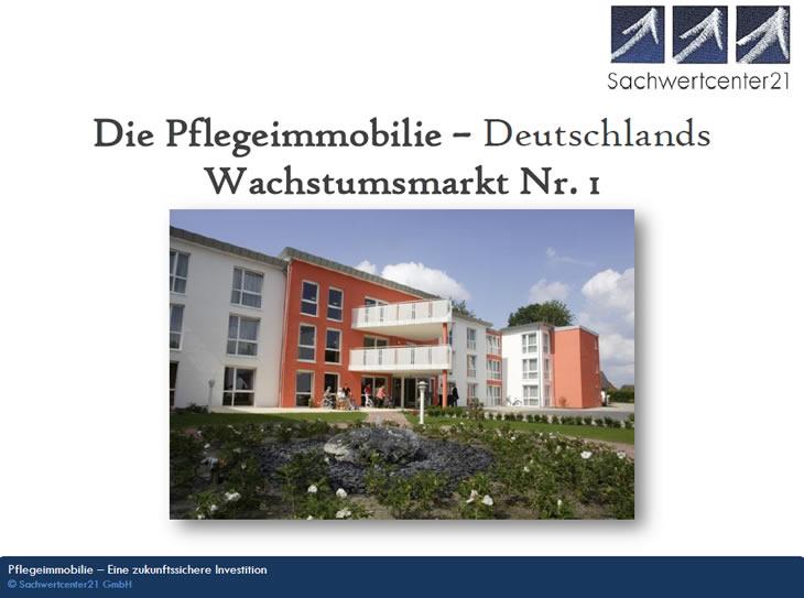 Ein Pflegeimmobilie von Sachwertcenter21